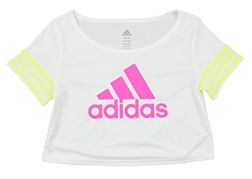 372792fb49ed Adidas Youth Girls Crop Top Flow Dance Tee Shirt - Many Colors ...