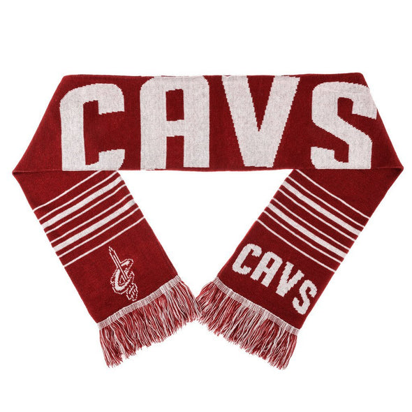 Forever Collectibles NBA Cleveland Cavaliers Acrylic Large Wordmark Logo Scarf
