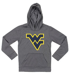NCAA Youth West Virginia Mountaineers Pullover Grey Hoodie