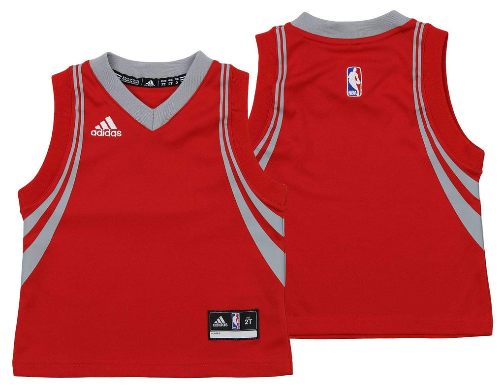 info for d7e59 41359 Adidas NBA Toddlers Houston Rockets Road Replica Jersey, Red