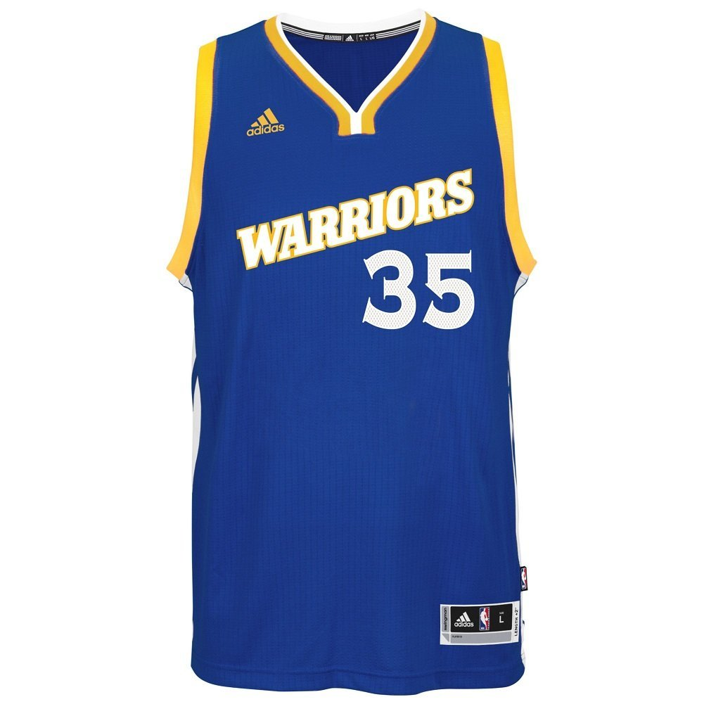 sneakers for cheap c06fa c0980 Adidas NBA Men's Golden State Warriors Kevin Durant #35 Swingman Jersey