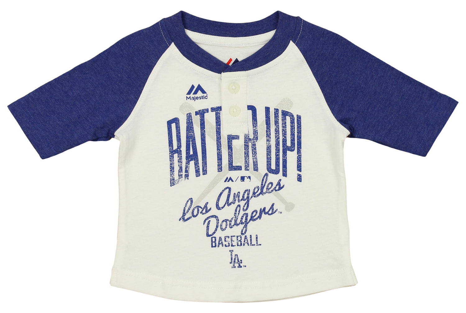 Majestic MLB Little Girls Los Angeles Dodgers Great Catch Hoodie and Pant Set