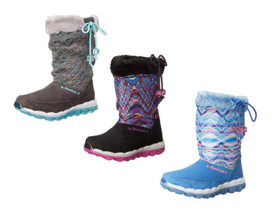Skechers Kids Girls Skech Air Quilty Cuties Snow Boots, 2 Colors