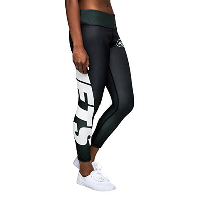 Forever Collectibles NFL Women's New York Jets Gradient 2.0 Wordmark Legging