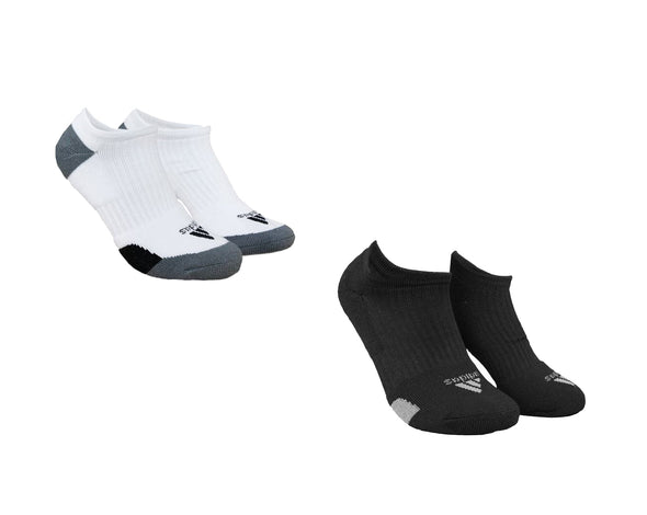 Adidas Golf Men's Comfort Low Cut Below Ankle Socks, Pair, Black or White