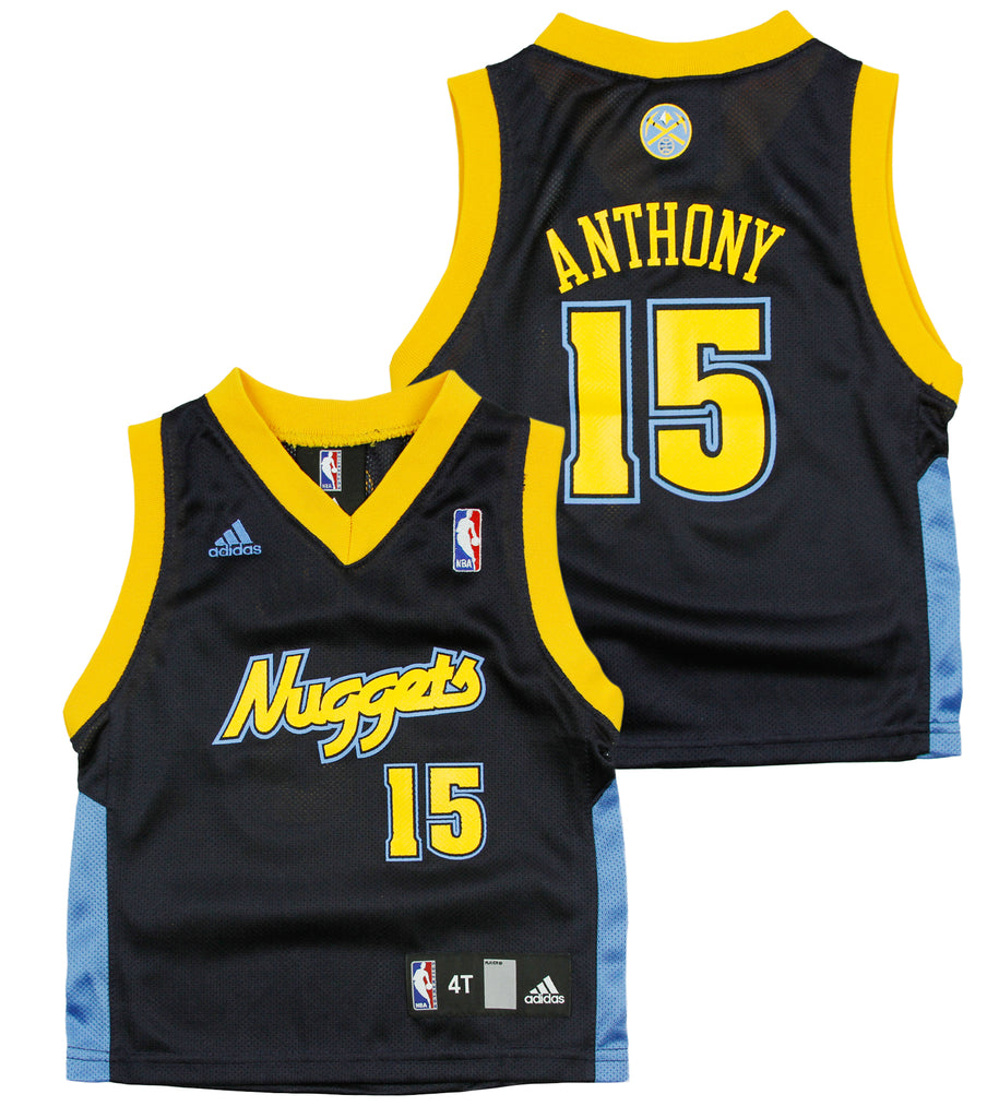 best service 0f670 64157 Adidas NBA Toddlers Denver Nuggets Carmelo Anthony # 15 Replica Jersey -  Navy