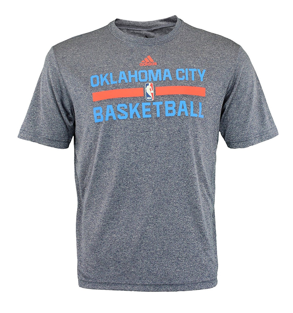 promo code cec8b ac4f4 Adidas NBA Men s Oklahoma City Thunder Athletic Basic Graphic Tee