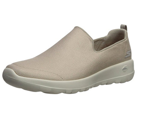 Skechers Women's Go Walk Joy - Gratify Slip On Sneaker, Taupe