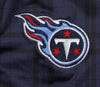 NFL Football Juniors Women's Tennessee Titans Plaid Tight Leggings, Navy