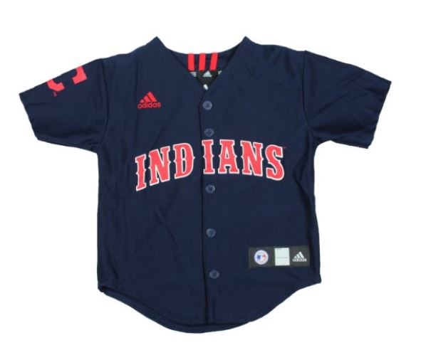 online store 16e9f 6c27a MLB Baseball Cleveland Indians Kids Jersey by Adidas