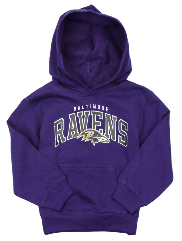 Baltimore Ravens NFL Kids Boys Promo Fleece Hoodie, Purple