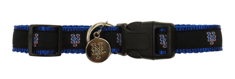 Sporty K9 MLB New York Mets Ribbon Dog Collar