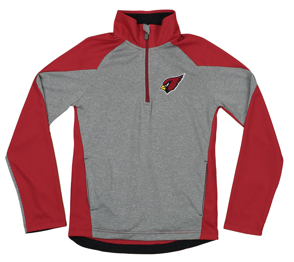 NFL Youth Arizona Cardinals DNA Zip Performance Pullover  for sale