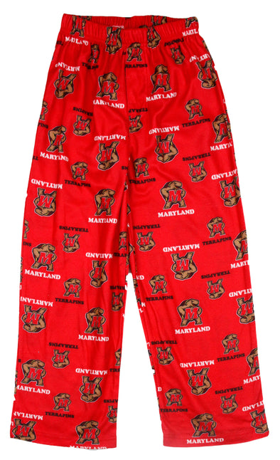NCAA College Little Kids / Youth Maryland Terrapins Lounge Pajama PJ Pants