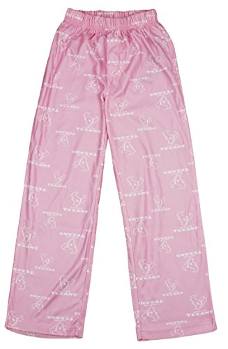 Outerstuff NFL Youth Girls Houston Texans Pink Flannel Pajama Pants