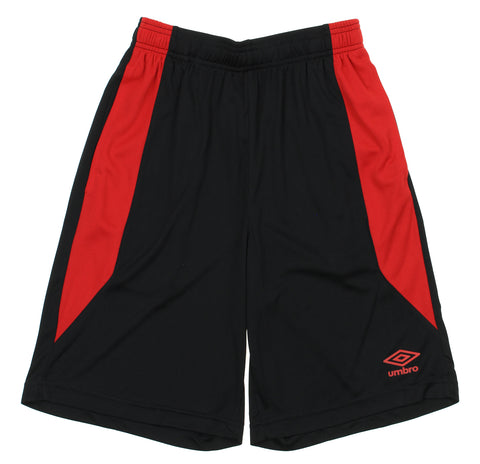 Umbro Men's Mesh Panel Training Shorts, Color Options