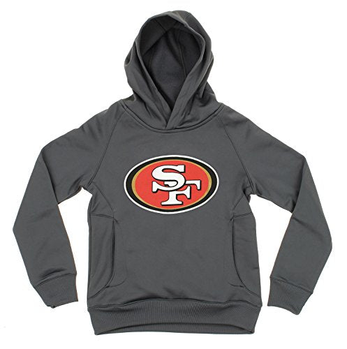 42659fe91 OuterStuff NFL Youth Boys San Francisco 49ers Logo Performance Sweatsh –  Fanletic