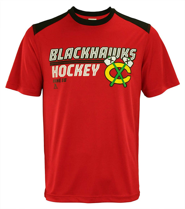 Outerstuff NHL Men Chicago Blackhawks Patrick Kane #88 Mass Finished Tee