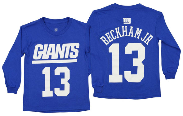 Outerstuff NFL Youth New York Giants Odell Beckham Jr. #13 Mainliner Player Tee