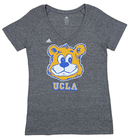 Adidas NCAA Women s UCLA Bruins Triblend Mascot Graphic Tee 6e65209ef