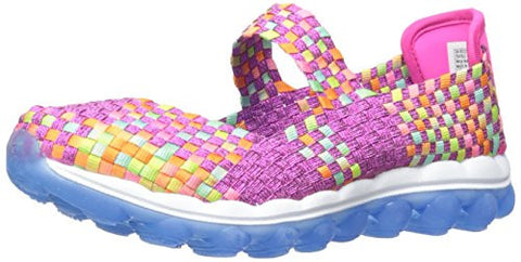 Skechers Little Girls Kids / Youth Skech Air-Glitzy Fitz Slip On Mary Jane Shoes, 2 Colors