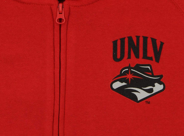 Gen 2 NCAA Women's UNLV Rebels Team Logo Hoodie, Red