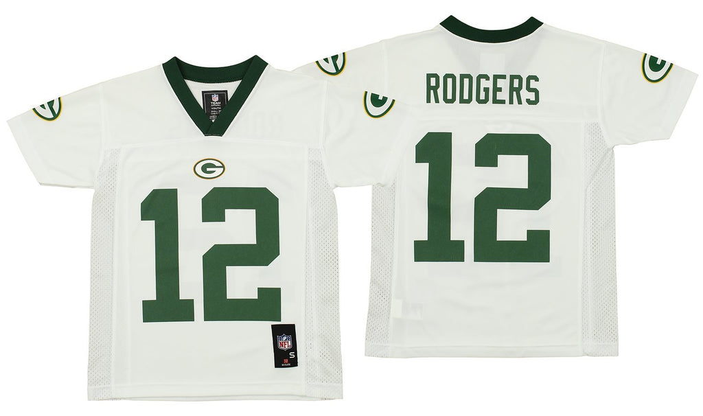 OuterStuff NFL Youth Green Bay Packers Aaron Rodgers  12 Jersey ... e11be7509