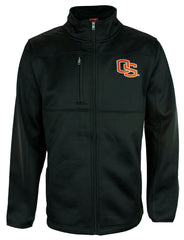 Genuine Stuff NCAA Men's Oregon State University Beavers Jacket - Black