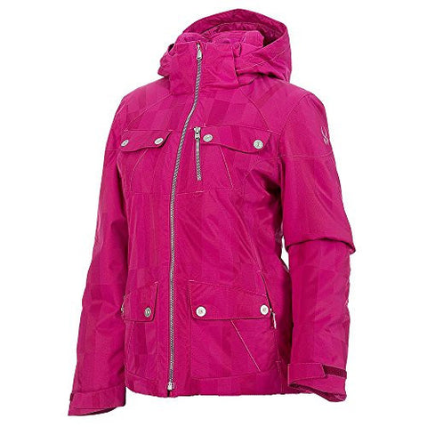 Spyder Evar Jacket - Women's Wild Anti Plaid, 2
