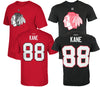 Reebok NHL Chicago Blackhawks Patrick Kane #88 Tri-Blend Matrix T-Shirt, Color Options