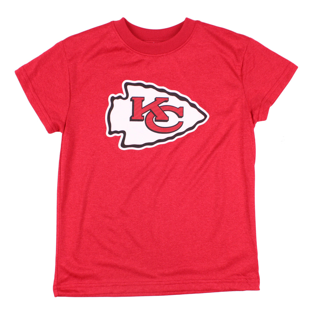 NFL Youth   Little Kids Kansas City Chiefs Short Sleeve Team T-Shirt ... 6a659adf74fd