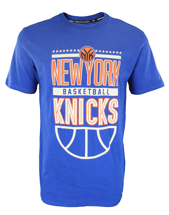 Zipway NBA Men's New York Knicks Stars & Bars T-Shirt, Blue