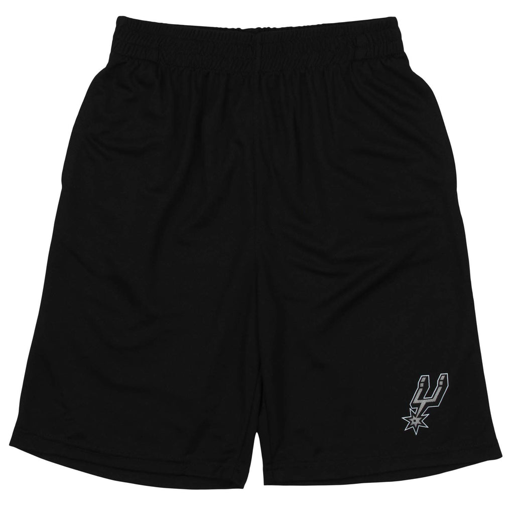 Outerstuff NBA Youth San Antonio Spurs Basic Team Color Shorts, Black