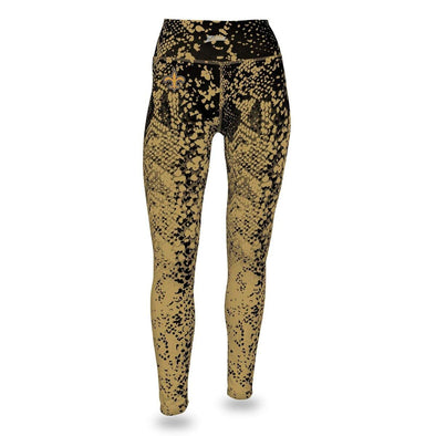 Zubaz NFL Women's Zubaz New Orleans Saints Logo Leggings