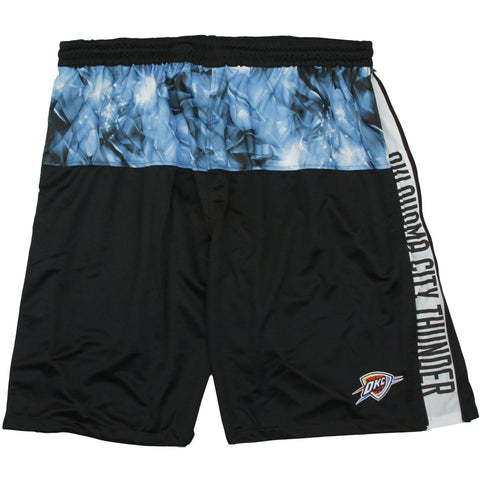 Zipway NBA Big Men's Oklahoma City Thunder Brilliant Basketball Shorts, Black
