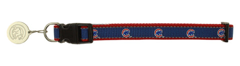 Sporty K9 MLB Chicago Cubs Reflective Dog Collar