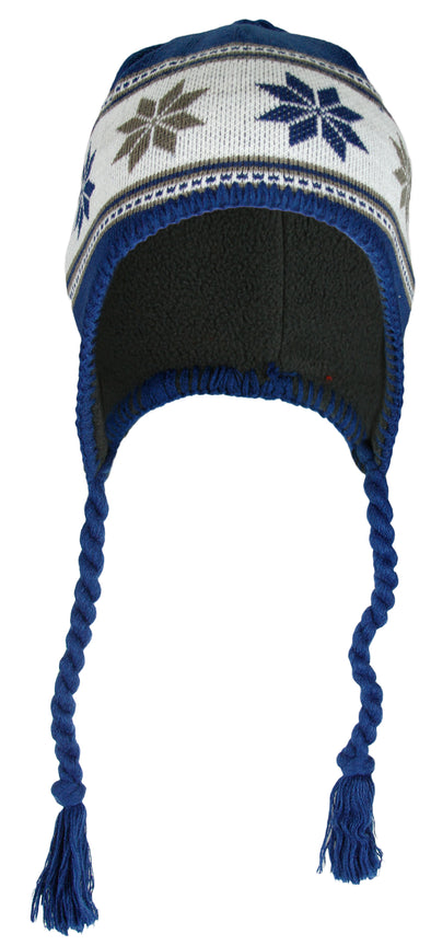 Indianapolis Colts NFL Football Kids Tassel Knit Hat - Blue (Youth Sizing 8-20)