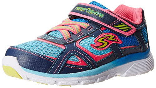 Stride Rite Little Kids Racer Light-up Supersonic Athletic Sneaker Shoes, Navy