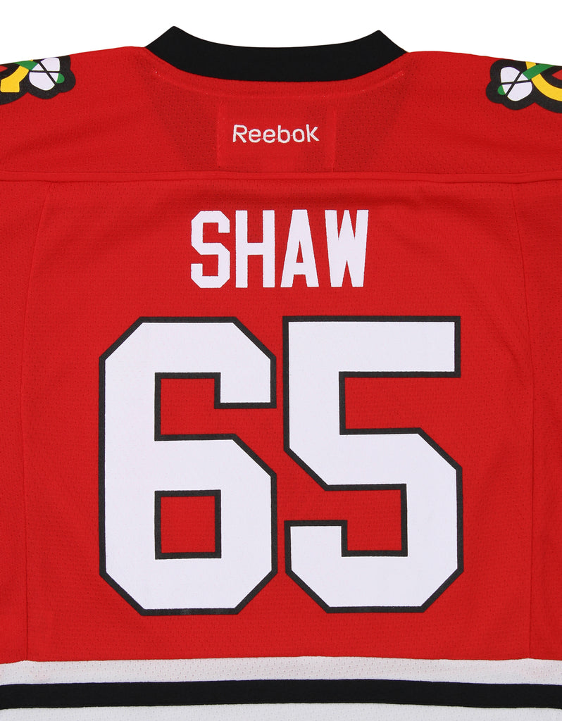 separation shoes 44d4d 1438c Reebok NHL Youth Chicago Blackhawks Andrew Shaw #65 Replica Jersey