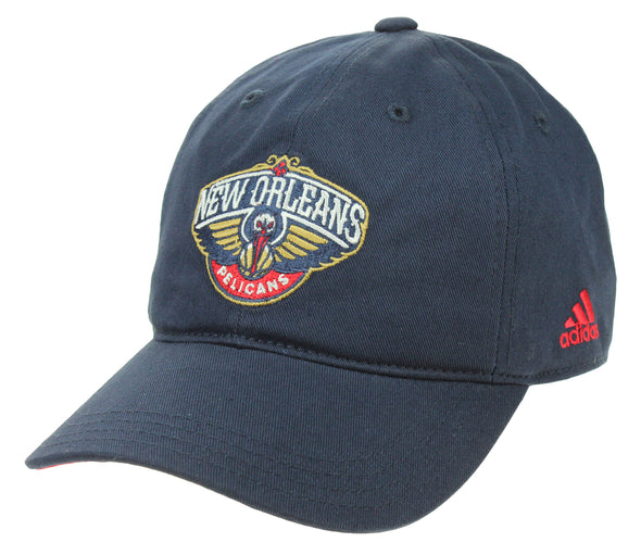 Adidas NBA Youth Girls New Orleans Pelicans Basic Slouch Adjustable Cap, Navy