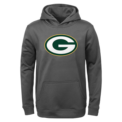 NFL Youth Green Bay Packers Performance Fleece Pullover Hoodie