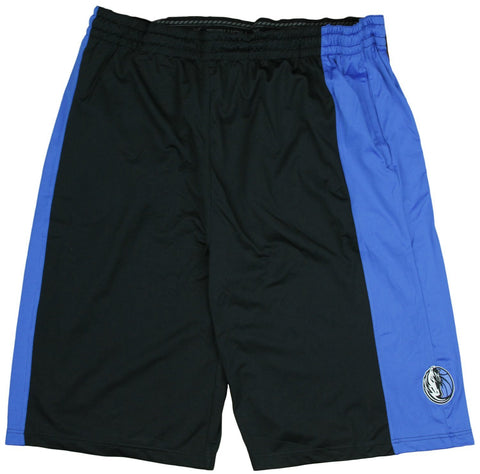 Zipway NBA Big Men's Dallas Mavericks Malone Basketball Shorts, Black