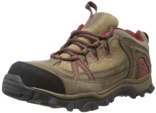 Wolverine Women's Maggie Oxford Work Saftey Hiking Boots, Brown