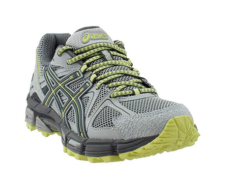 ASICS Women's Gel-Kahana 8 Trail Runner Shoe, Mid Grey/Carbon/Lime