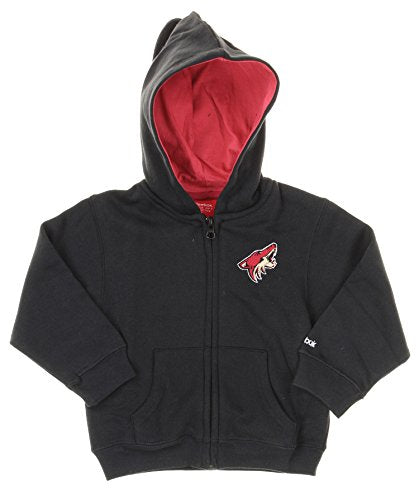 Reebok NHL Toddler Arizona Coyotes Full Zip Hoodie, Black