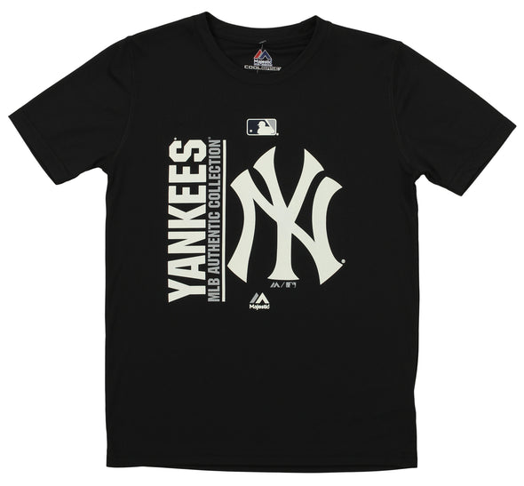 Majestic MLB Youth New York Yankees Short Sleeve AC Team Icon Tee