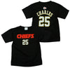 NFL Kids Kansas City Chiefs Jamaal Charles #25 Short Sleeve Player T-shirt