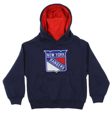 Reebok NHL Kids New York Rangers Prime Basic Hoodie, Navy