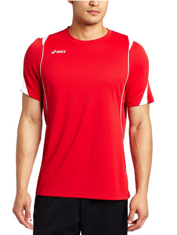 Asics Men's Crusher Athletic Jersey, Red/White