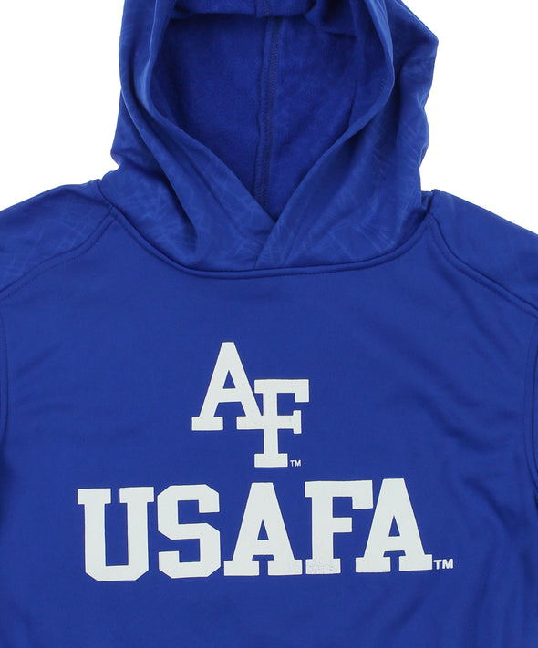NCAA Youth Air Force Falcons Performance Hoodie, Blue